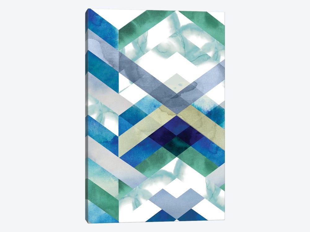 Crystal Chevron I by Grace Popp 1-piece Canvas Artwork