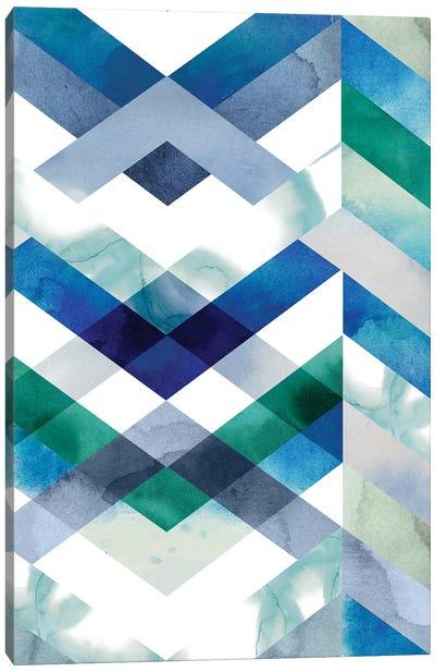 Crystal Chevron II Canvas Art Print