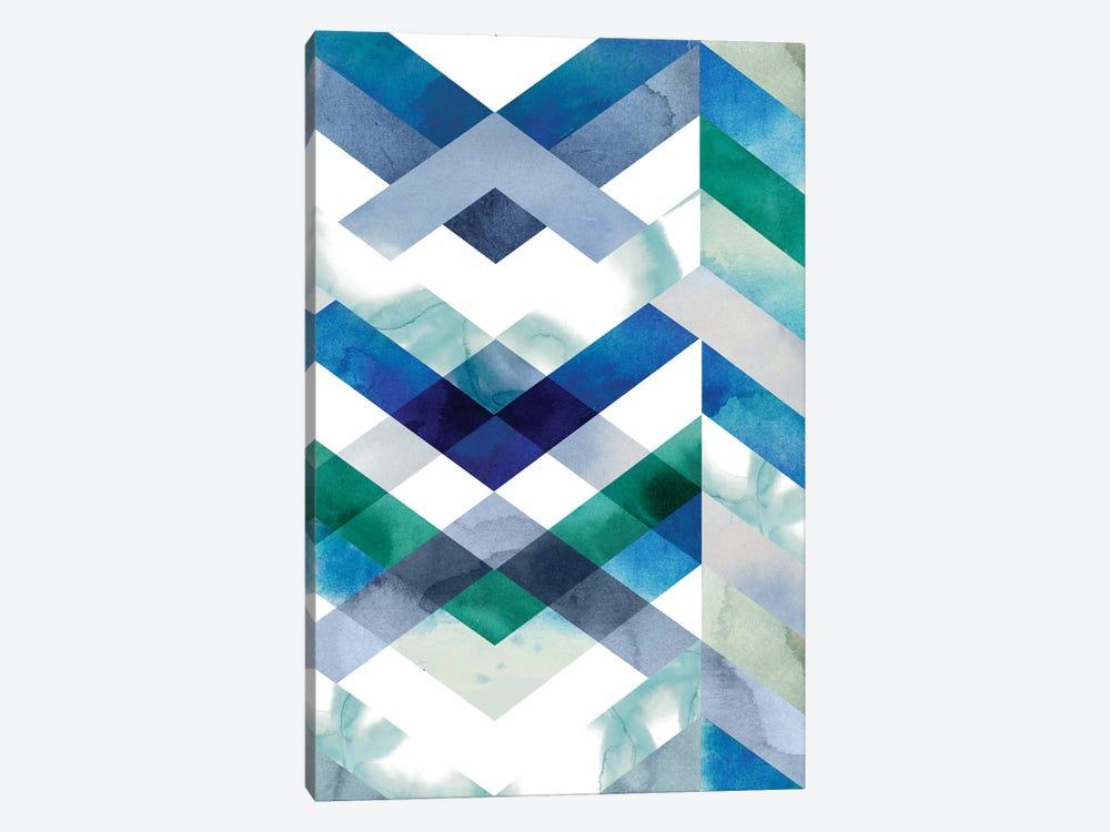 Crystal Chevron II by Grace Popp 1-piece Canvas Art Print