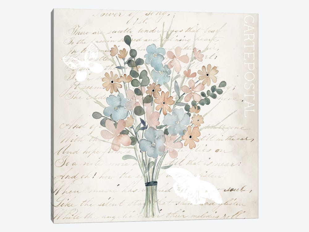Fleurs Pastel I by Grace Popp 1-piece Art Print