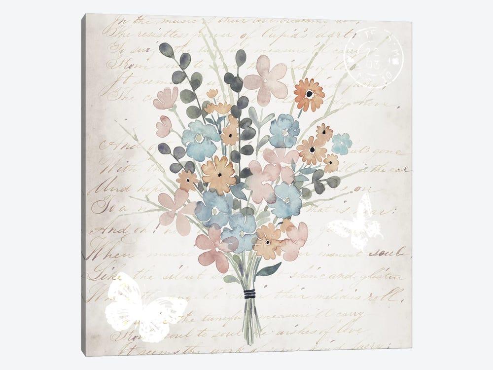 Fleurs Pastel II by Grace Popp 1-piece Canvas Artwork