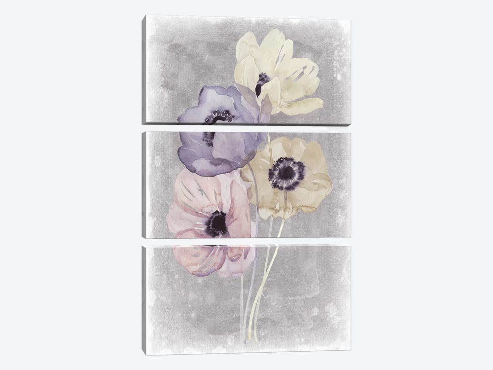 Floral Waltz I by Grace Popp 3-piece Art Print