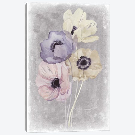 Floral Waltz I 3-Piece Canvas #POP759} by Grace Popp Canvas Wall Art