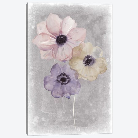 Floral Waltz II Canvas Print #POP760} by Grace Popp Canvas Print