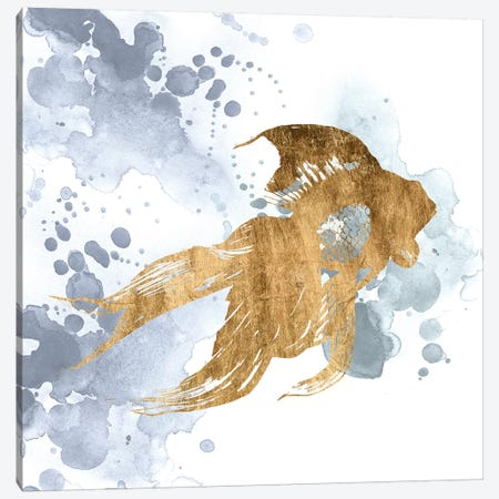 Gilded Splash VIII Canvas Print #POP764} by Grace Popp Canvas Artwork