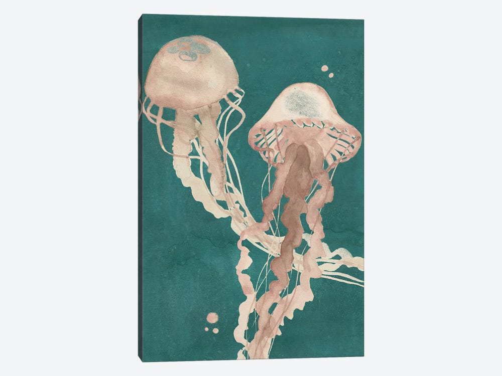 Jellyfish Dance I by Grace Popp 1-piece Canvas Artwork