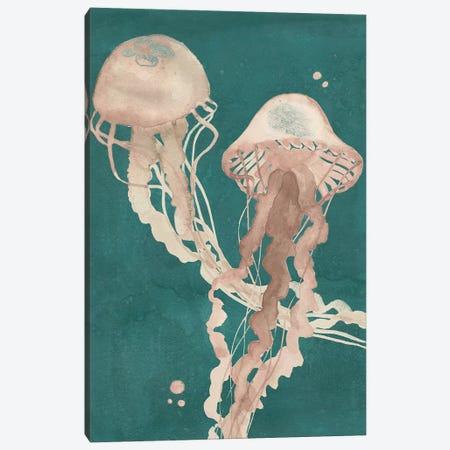 Jellyfish Dance I Canvas Print #POP769} by Grace Popp Art Print