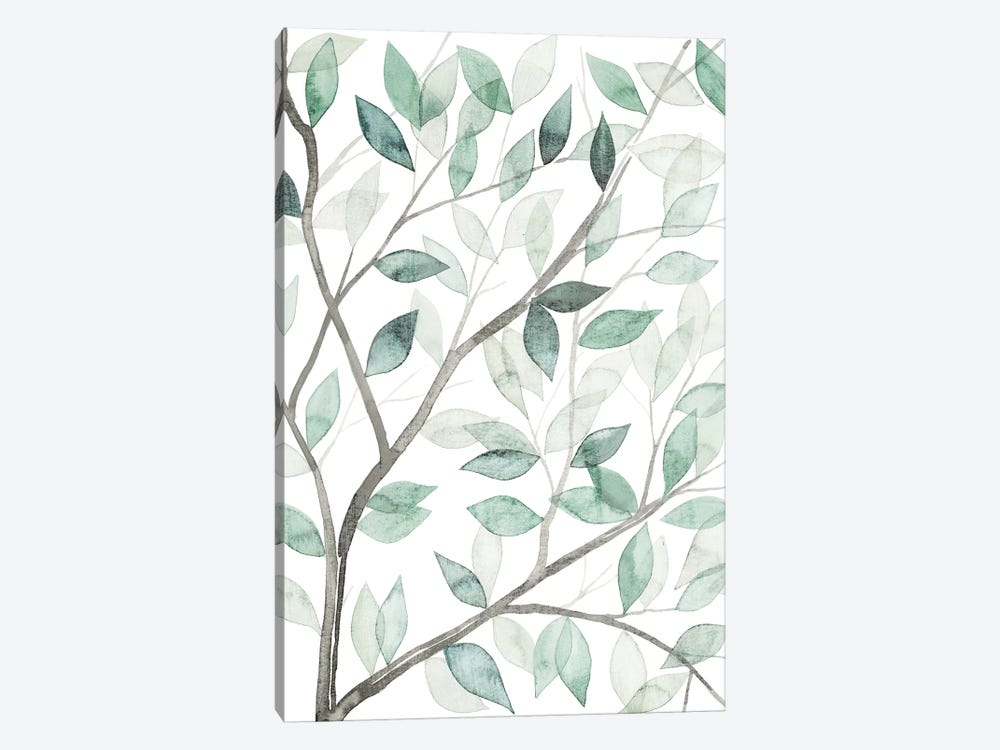 Leaf Lace I by Grace Popp 1-piece Canvas Art Print