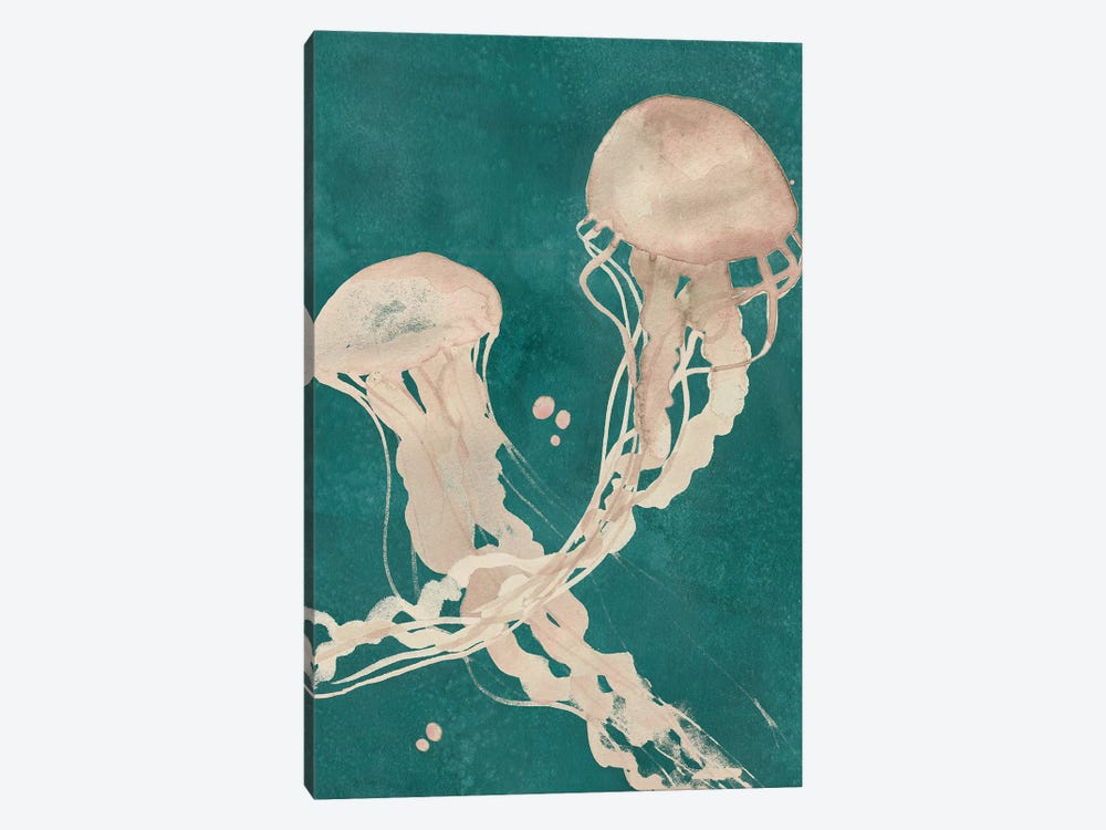 Jellyfish Dance II 1-piece Canvas Wall Art