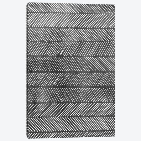 Modern Monochrome I Canvas Print #POP777} by Grace Popp Canvas Art Print