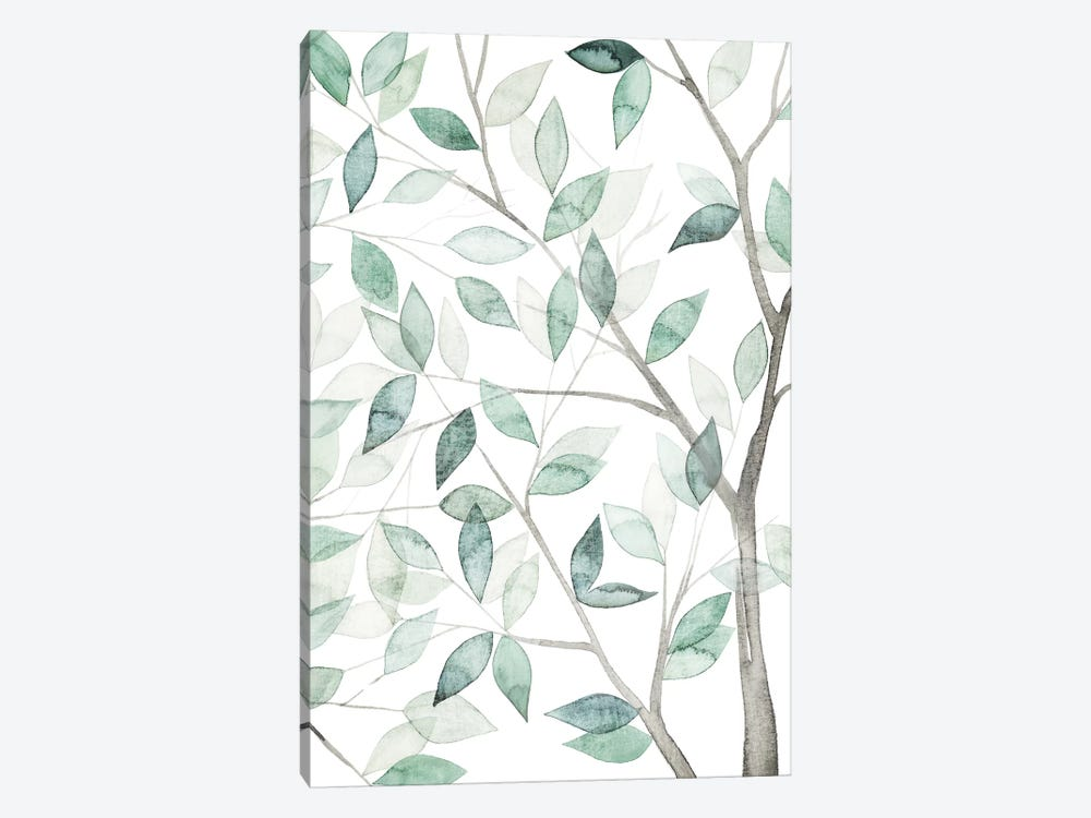 Leaf Lace II by Grace Popp 1-piece Canvas Wall Art