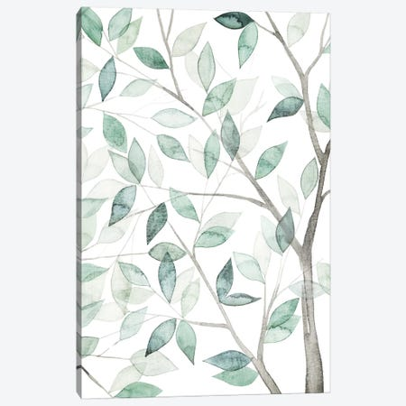 Leaf Lace II Canvas Print #POP77} by Grace Popp Canvas Print