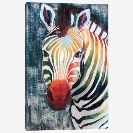 Prism Zebra II Canvas Print #POP789} by Grace Popp Canvas Art Print