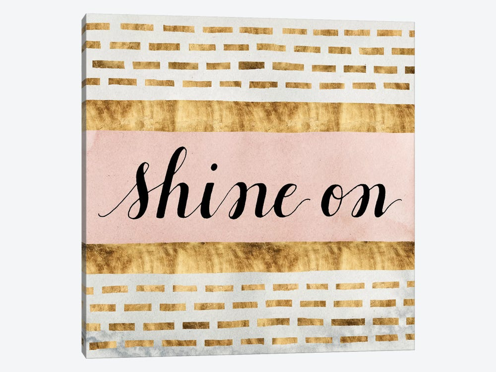 Shine On Collection VI by Grace Popp 1-piece Canvas Art Print