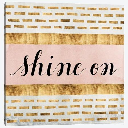Shine On Collection VI Canvas Print #POP802} by Grace Popp Canvas Art