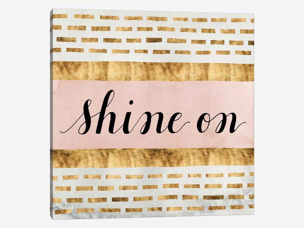 Shine On Collection VI by Grace Popp 1-piece Canvas Art Print