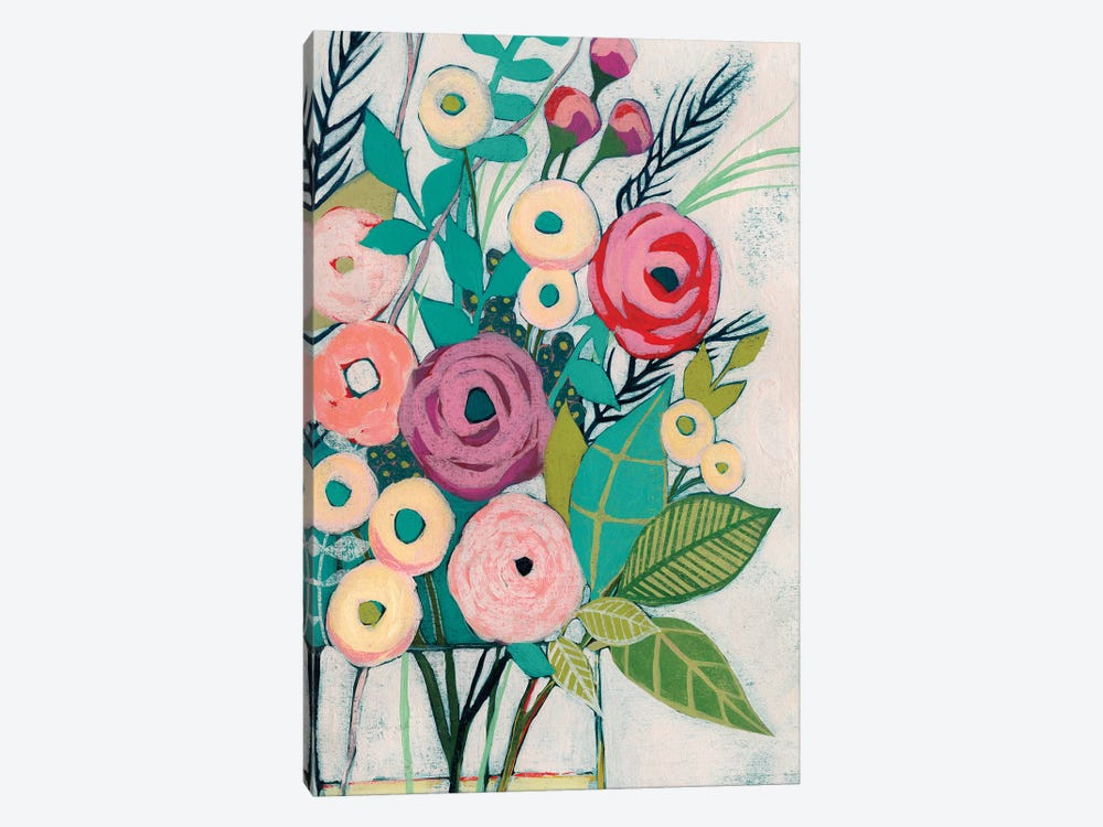 Soft Spring Bouquet I by Grace Popp 1-piece Canvas Wall Art