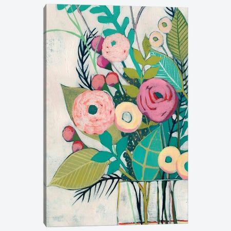 Soft Spring Bouquet II Canvas Print #POP804} by Grace Popp Canvas Print