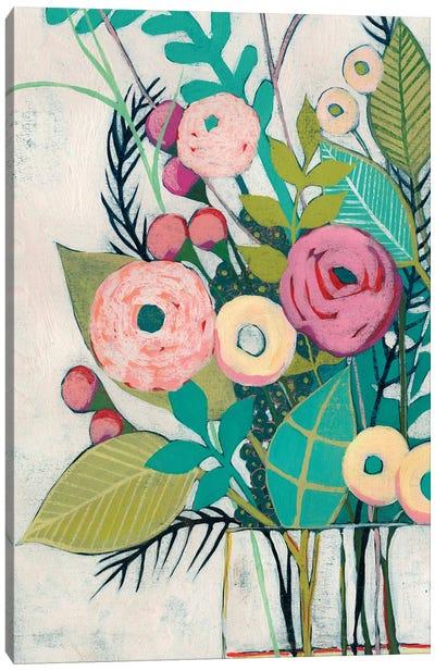 Soft Spring Bouquet II Canvas Art Print
