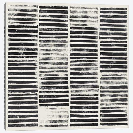 Stripe Block Prints I 3-Piece Canvas #POP805} by Grace Popp Canvas Art Print