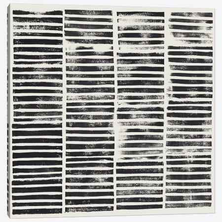 Stripe Block Prints II 3-Piece Canvas #POP806} by Grace Popp Canvas Art Print