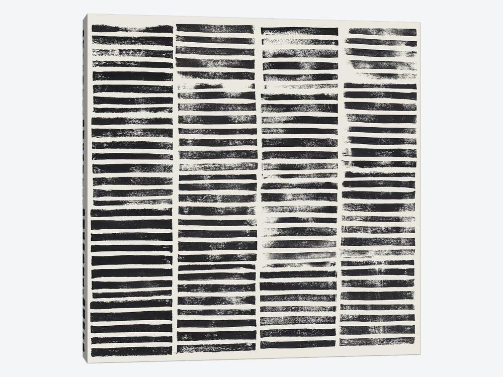Stripe Block Prints II by Grace Popp 1-piece Canvas Print