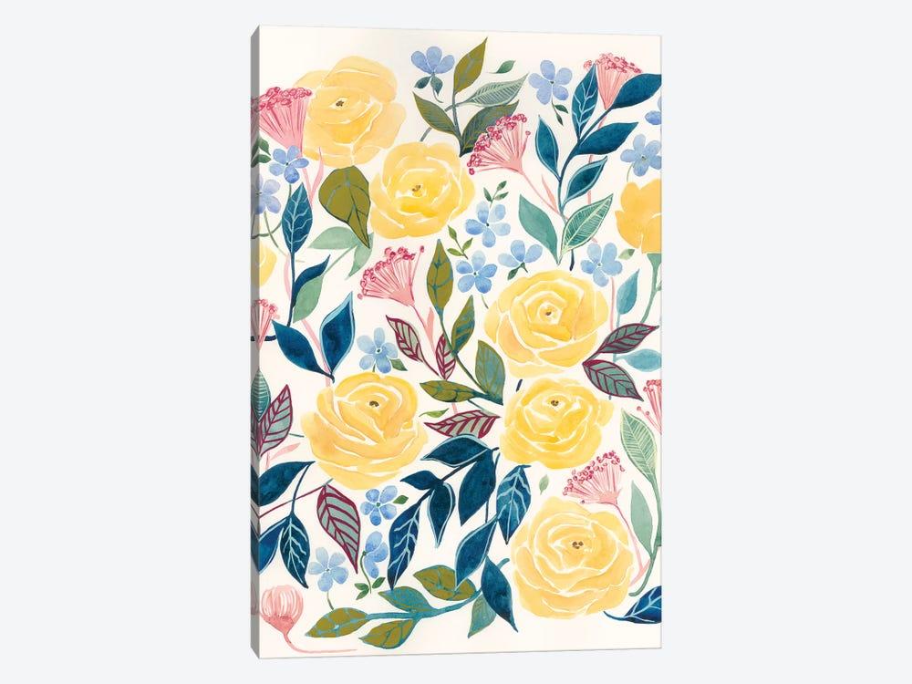 Unbound Blossoms II by Grace Popp 1-piece Canvas Art