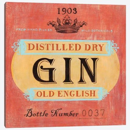 Vintage Liquor Label I Canvas Print #POP813} by Grace Popp Art Print