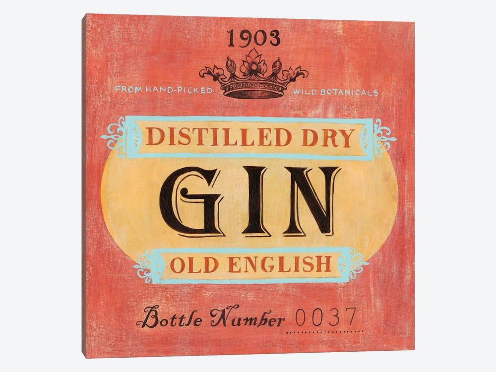 Vintage Liquor Label I by Grace Popp 1-piece Canvas Art Print