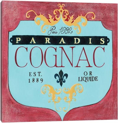 Vintage Liquor Label IV Canvas Art Print