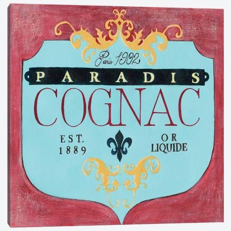Vintage Liquor Label IV Canvas Print #POP816} by Grace Popp Canvas Wall Art