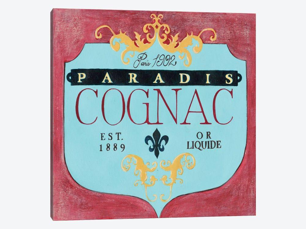 Vintage Liquor Label IV by Grace Popp 1-piece Canvas Art
