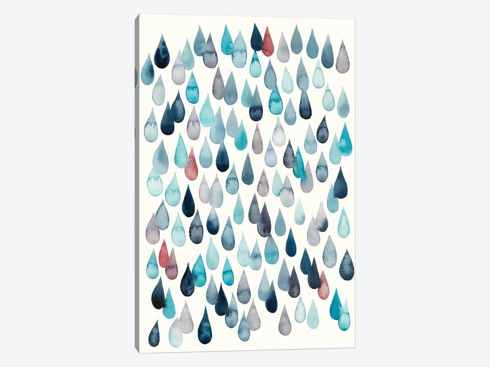 Watercolor Drops II by Grace Popp 1-piece Canvas Print