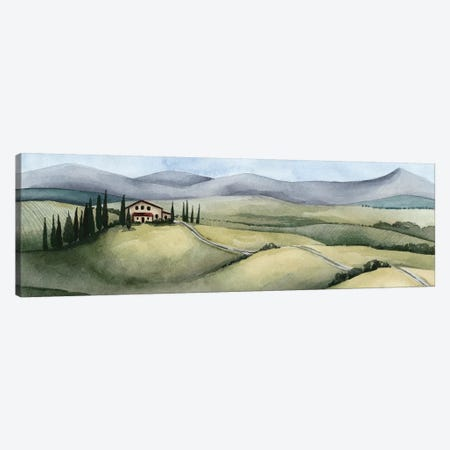 Watercolor Tuscany III Canvas Print #POP822} by Grace Popp Canvas Art