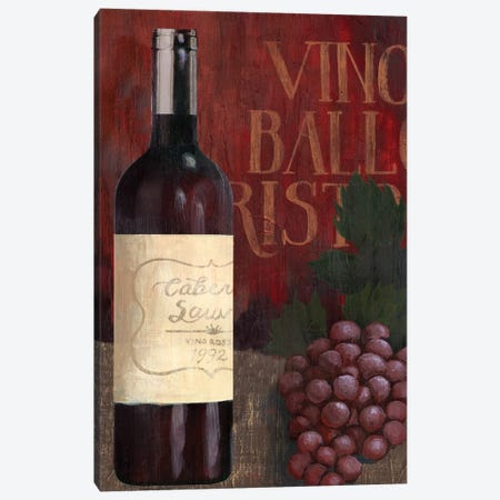 Wine Still Life I Canvas Print #POP831} by Grace Popp Canvas Print