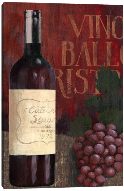 Wine Still Life I Canvas Art Print