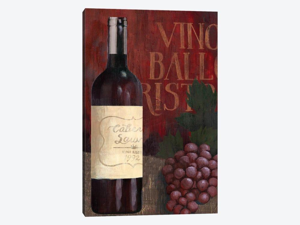 Wine Still Life I by Grace Popp 1-piece Canvas Print