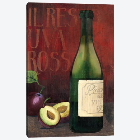 Wine Still Life II Canvas Print #POP832} by Grace Popp Art Print