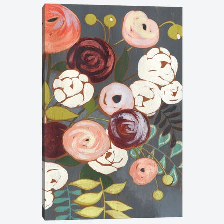 Wistful Bouquet I Canvas Print #POP833} by Grace Popp Canvas Art Print