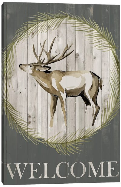 Woodland Welcome I Canvas Art Print