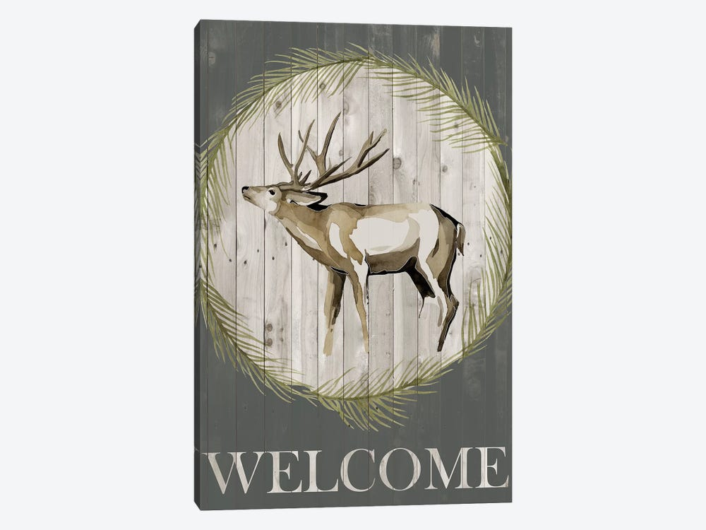 Woodland Welcome I by Grace Popp 1-piece Canvas Print