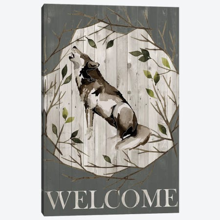 Woodland Welcome II Canvas Print #POP836} by Grace Popp Canvas Art
