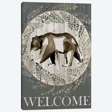 Woodland Welcome III Canvas Print #POP837} by Grace Popp Canvas Art