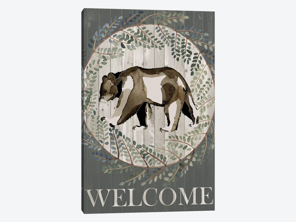 Woodland Welcome III by Grace Popp 1-piece Canvas Art Print