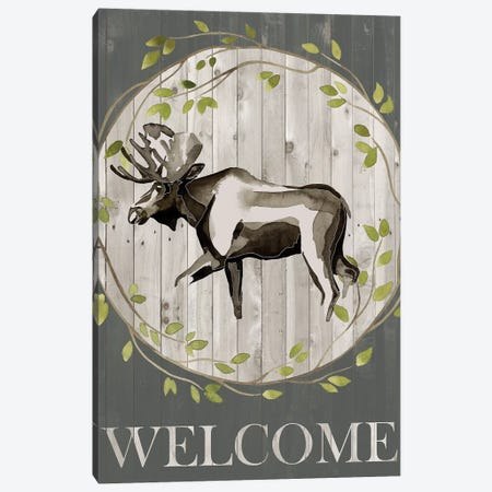 Woodland Welcome IV 3-Piece Canvas #POP838} by Grace Popp Art Print