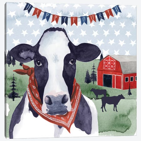 American Herd I Canvas Print #POP839} by Grace Popp Art Print