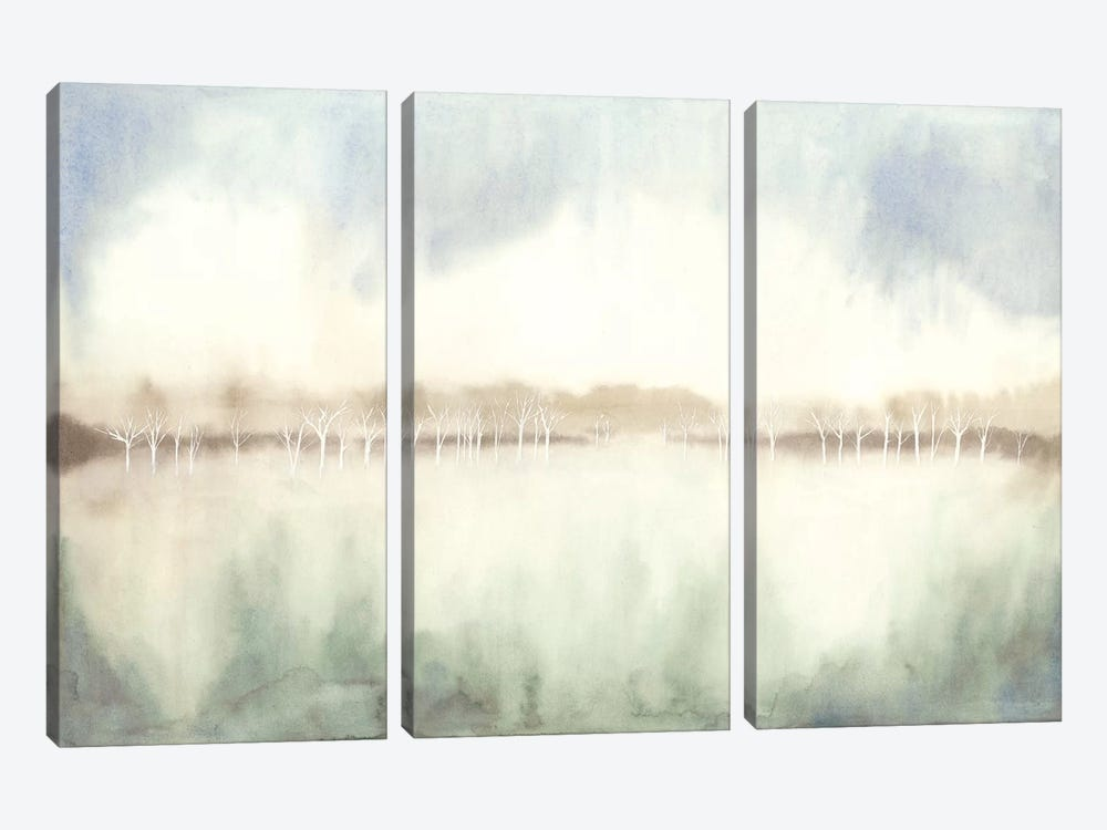 Mid Morning Mist I by Grace Popp 3-piece Canvas Art Print