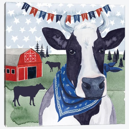 American Herd II Canvas Print #POP840} by Grace Popp Canvas Art