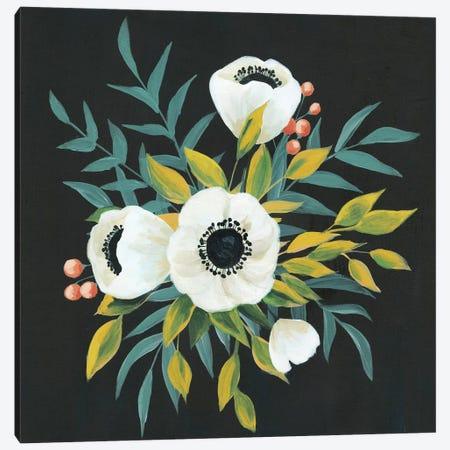 Anemone Posy II Canvas Print #POP842} by Grace Popp Canvas Art