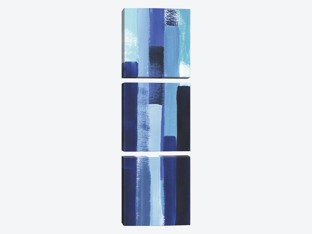 Azule Waterfall I by Grace Popp 3-piece Canvas Artwork
